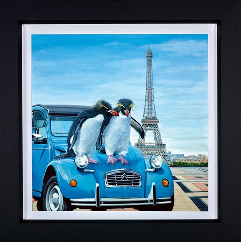 Le Grand Tour by Steve Tandy - Framed Limited Edition on Canvas