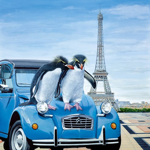 Le Grand Tour by Steve Tandy - Limited Edition on Canvas